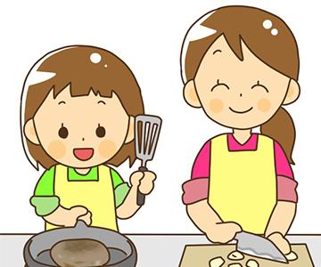 夕飯作りを一緒にする!のアイキャッチ画像