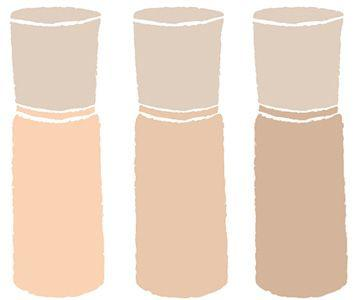 ファンデーションの色選びの方法のアイキャッチ画像