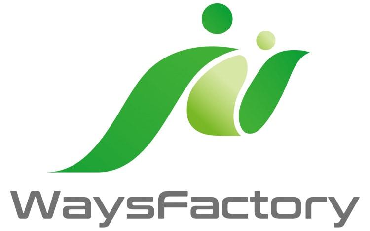 株式会社ウェイズファクトリーのロゴ