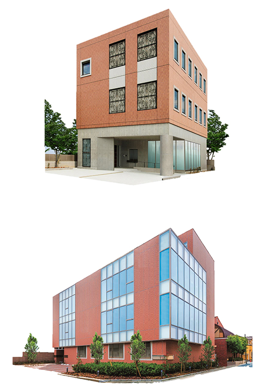 堺女子短期大学の新校舎
